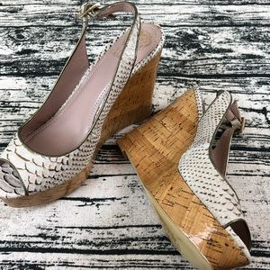 Vince Camuto Platform Wedge Sandals, 10.